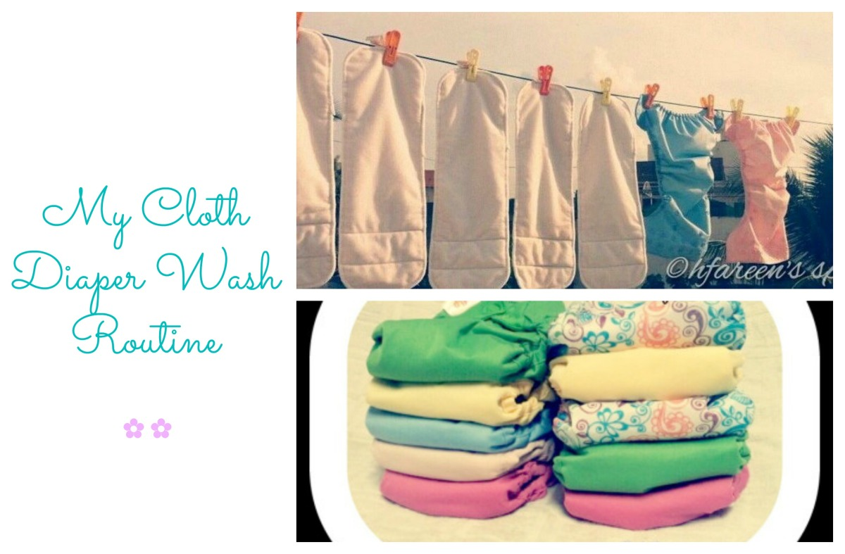 Cloth Diaper Series: My Wash Routine!