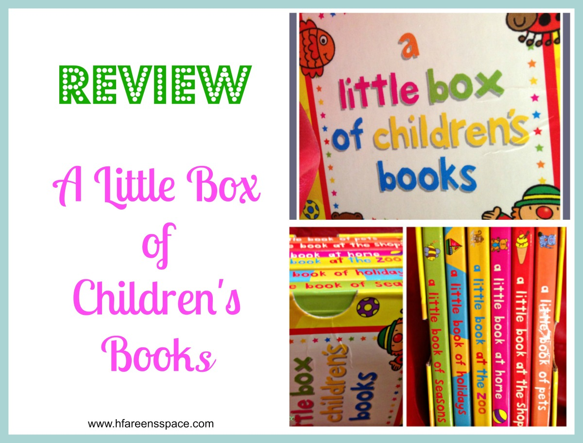 A little box of childrens' books review