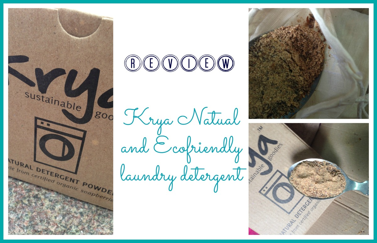 Krya Natural Detergent Review