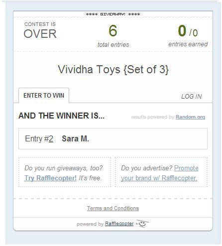 vividha winner