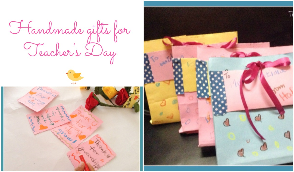 Handmade Gift for Teacher's Day