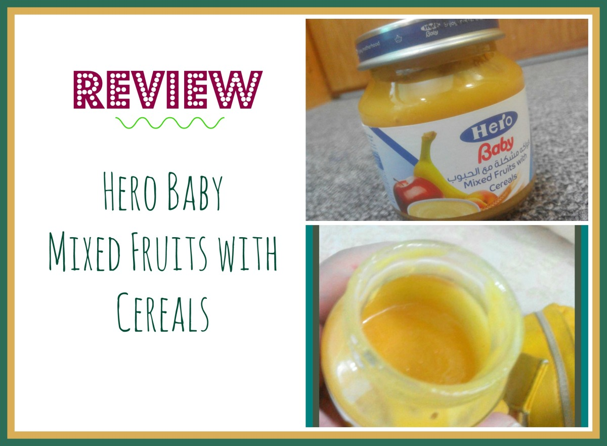 HERO BABY mixed fruits with cereals (stage 2) Review